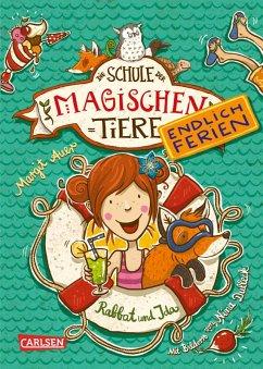 Rabbat und Ida / Die Schule der magischen Tiere - Endlich Ferien Bd.1 (eBook, ePUB) - Auer, Margit
