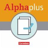 Alpha plus A1/1: Basiskurs - Kursbuch und Bildwörterbuch