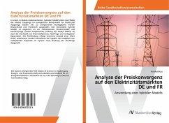 Analyse der Preiskonvergenz auf den Elektrizitätsmärkten DE und FR