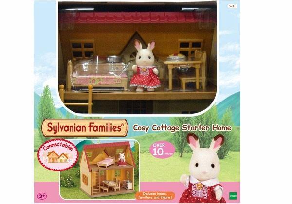 Sylvanian Families Starter Haus Bei bücher immer