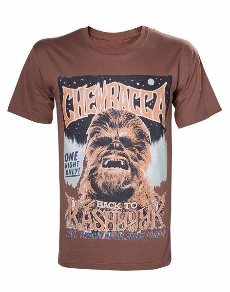 Star Wars T Shirt S Chewbacca Poster Braun Bei Bucher De Immer