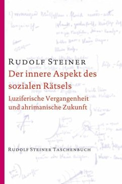 Der innere Aspekt des sozialen Rätsels - Steiner, Rudolf