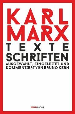 Texte Schriften (eBook, ePUB) - Marx, Karl