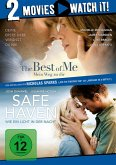 Pack: The Best of Me + Safe Haven - 2 Disc DVD