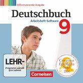 9. Schuljahr, Übungs-CD-ROM zum Arbeitsheft / Deutschbuch, Differenzierende Ausgabe