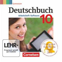 10. Schuljahr, Übungs-CD-ROM zum Arbeitsheft / Deutschbuch, Gymnasium Allgemeine Ausgabe, Neubearbeitung 2012