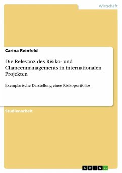 Die Relevanz des Risiko- und Chancenmanagements in internationalen Projekten (eBook, ePUB)