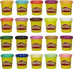 Hasbro A7924EU6 - Play-Doh, Super Farbenset, 20-er Pack, Knete