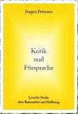 Kritik und Fürsprache (eBook, ePUB)