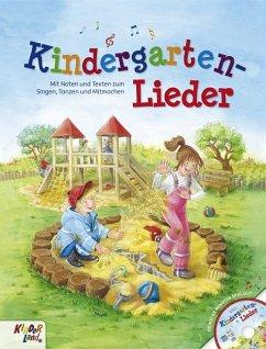 Kindergartenlieder, m. Audio-CD