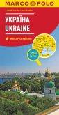MARCO POLO Karte Länderkarte Ukraine1:800 000