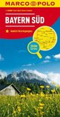 MARCO POLO Karte Bayern Süd; South Bavaria; Sud Bavière