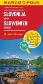 Marco Polo Karte Länderkarte Slowenien, Istrien 1:300 000; Slovenija, Istra / Slovenie, Istrie