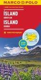 MARCO POLO Karte Länderkarte Island, Färöer 1:650 000