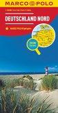 MARCO POLO Regionalkarte Deutschland Nord 1:500000