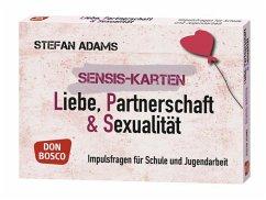 Sensis-Karten Liebe, Partnerschaft und Sexualität - Adams, Stefan