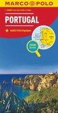 MARCO POLO Karte Länderkarte Portugal 1:300 000