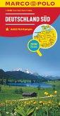 MARCO POLO Regionalkarte Deutschland Süd 1:500000