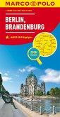 MARCO POLO Karte Berlin, Brandenburg; Berlin, Brandenbourg