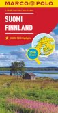 MARCO POLO Karte Länderkarte Finnland 1:850 000; Finlande; Suomi. Finland