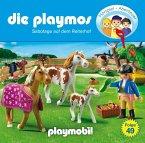 Sabotage auf dem Reiterhof / Die Playmos Bd.49 (1 Audio-CD)