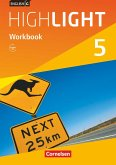 English G Highlight Band 5: 9. Schuljahr - Hauptschule - Workbook mit Audios online