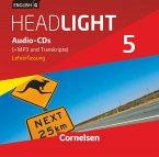 English G Headlight - Allgemeine Ausgabe - Band 5: 9. Schuljahr, Audio-CDs (Vollfassung) - Audio-Dateien auch als MP3 / English G Headlight, Allgemeine Ausgabe Bd.5