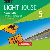 9. Schuljahr, Audio-CDs (+MP3 und Transkripte), Lehrerfassung / English G Lighthouse, Allgemeine Ausgabe Bd.5