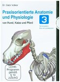 Praxisorientierte Anatomie und Physiologie bei Hund, Katze und Pferd. Tl.3, 1 DVD