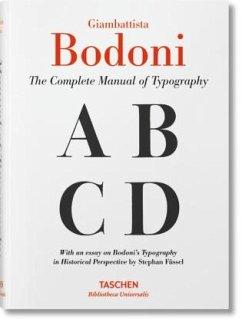Das vollständige Handbuch der Typografie - Bodoni, Giambattista
