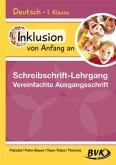 Inklusion von Anfang an: Deutsch - Schreibschrift-Lehrgang Vereinfachte Ausgangsschrift (VAS)