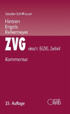 Zwangsversteigerungsgesetz/Zwangsverwaltungsges...