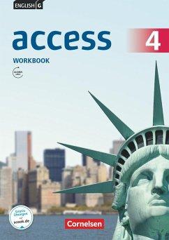 English G Access Band 4: 8. Schuljahr - Allgemeine Ausgabe - Workbook mit Audios online - Seidl, Jennifer