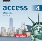 8. Schuljahr, Audio-CDs / English G Access - Allgemeine Ausgabe Bd.4