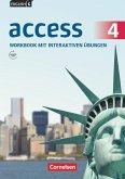 English G Access Band 4: 8. Schuljahr - Allgemeine Ausgabe - Workbook mit interaktiven Übungen auf scook.de