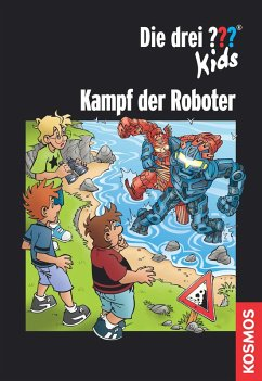 Die drei ??? Kids, Kampf der Roboter (drei Frag...
