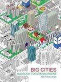 Malbuch für Erwachsene: Big Cities