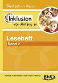 Inklusion von Anfang an: Deutsch - Leseheft 2: Für Förderkinder