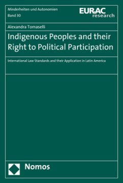 Indigenous Peoples and their Right to Political Participation - Tomaselli, Alexandra