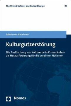 Kulturgutzerstörung - Schorlemer, Sabine Frfr. von
