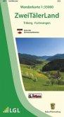 Topographische Wanderkarte Baden-Württemberg ZweiTälerLand