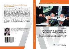 Emotionen in Business-to-Business Verhandlungen