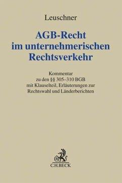 AGB-Recht im unternehmerischen Rechtsverkehr