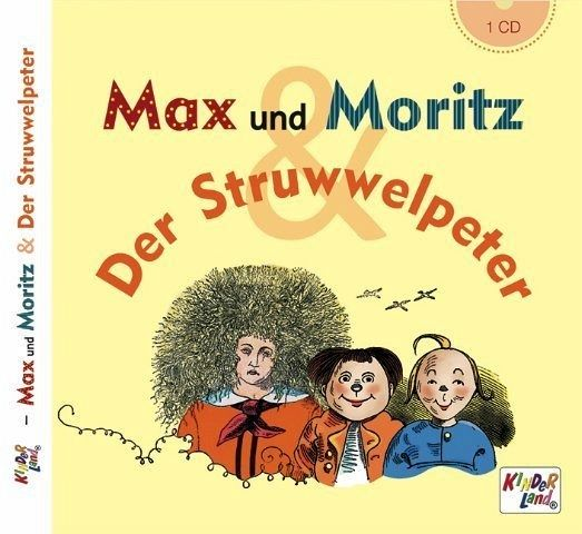 max und moritz der struwwelpeter 1 audio cd h rbuch. Black Bedroom Furniture Sets. Home Design Ideas