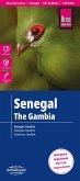 Reise Know-How Landkarte Senegal, Gambia (1:550.000); Senegal, The Gambia / Sénégal, Gambie