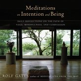 Meditations on Intention and Being (eBook, ePUB)