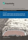 Plated Copper Front Side Metallization on Printed Seed-Layers for Silicon Solar Cells.