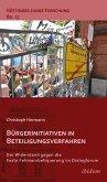 Bürgerinitiativen in Beteiligungsverfahren