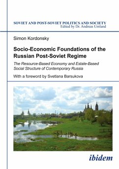 Socio-Economic Foundations of the Russian Post-Soviet Regime - Kordonsky, Simon