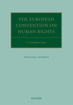 The European Convention on Human Rights (eBook, PDF) - Schabas, William A.